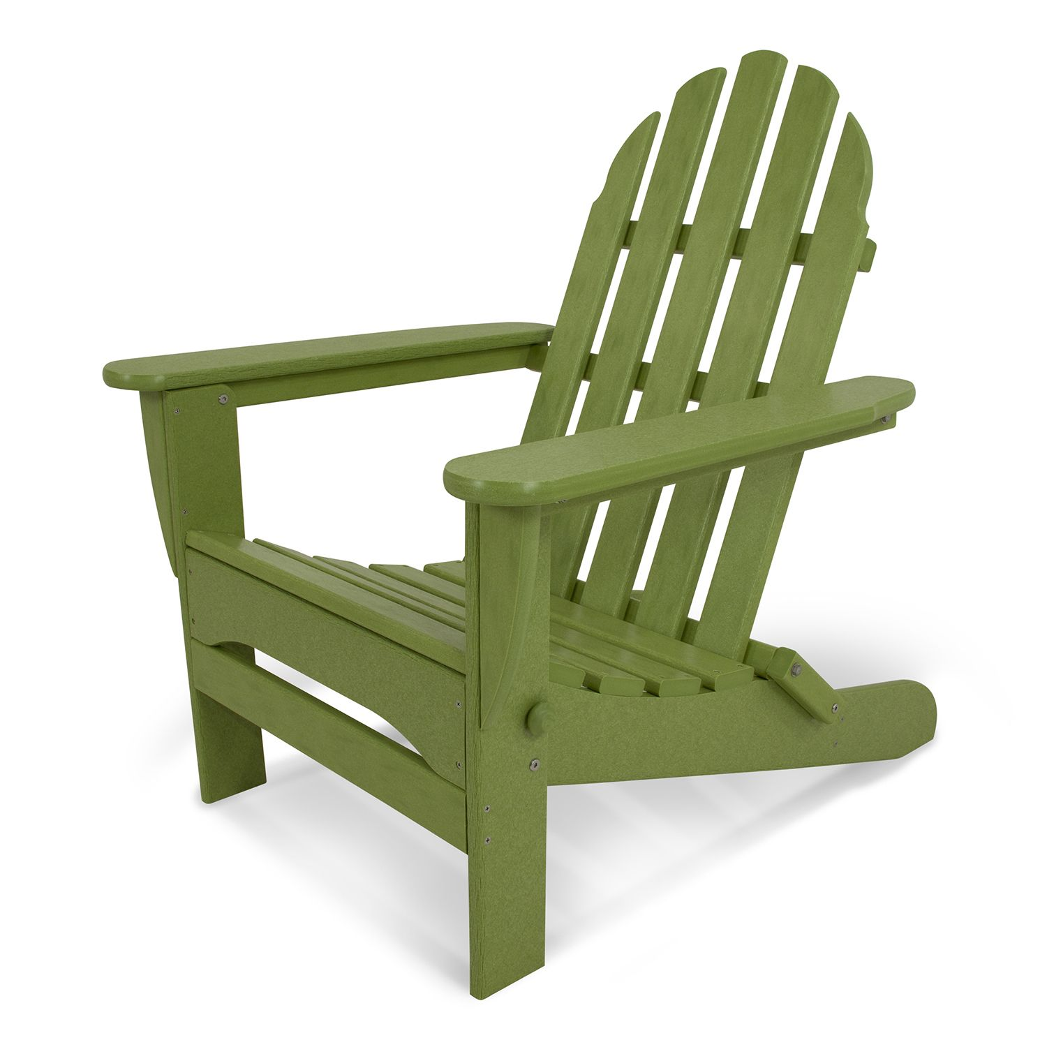 Lovely POLYWOOD Classic Folding Adirondack Chair Outdoor