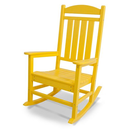 Polywood Presidential Bright Rocking Chair Outdoor