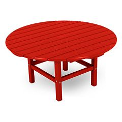POLYWOOD® Bright Round Conversation Table - Outdoor