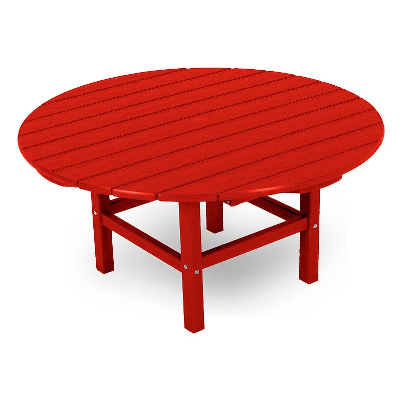 POLYWOOD Round Conversation Table - Outdoor (Red)