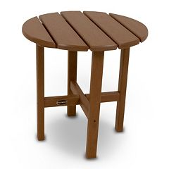 POLYWOOD® Round Side Table - Outdoor