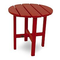 POLYWOOD® Round Outdoor Side Table