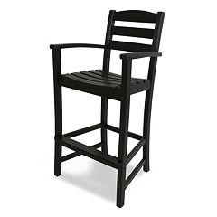 POLYWOOD® La Casa Cafe Bar Arm Chair - Outdoor