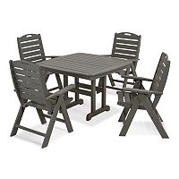 POLYWOOD® 5-pc. Nautical Dining Set - Outdoor
