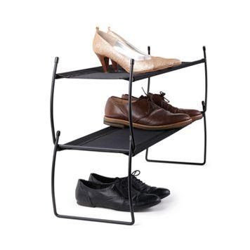 Umbra Imelda 2-pack Stackable Shoe Racks