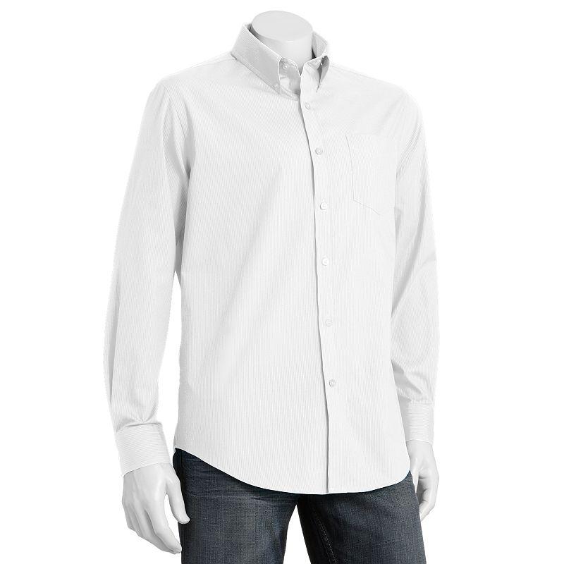 Black stripe dress shirt kohl 39 s for Tony collar dress shirt