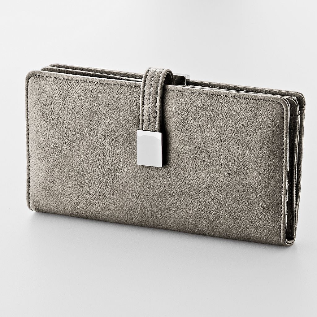 Croft & Barrow® Abbey Clutch Wallet