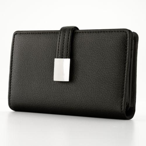 Croft & Barrow® Abbey Snap Closure Indexer Wallet