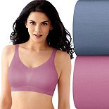 Bali® 2-pack Seamless Microfiber Crop Tops X1J3