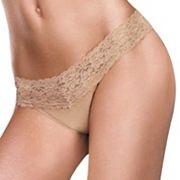 Maidenform Dream Lace Trim Thong Panty 40156