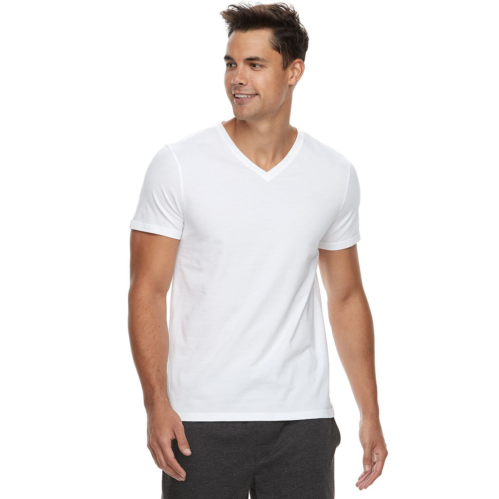 Men's Apt. 9® Premier Flex V-Neck Tee