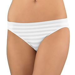Jockey Comfies Striped Bikini Panty 1305 - Women's