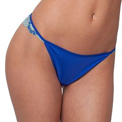 Juniors' Candie's® Microfiber Cross-Dye Thong