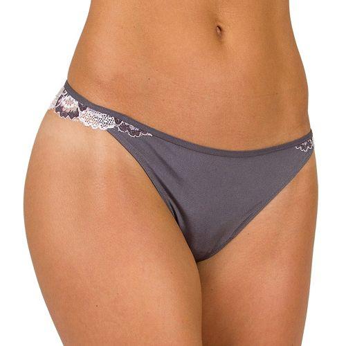Candie's® Microfiber Cross-Dye Thong