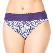 Warner's No Pinching. No Problems. Lace Hi-Cut Panty 5109J - Women's
