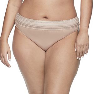 Warner's No Pinching. No Problems. Hi-Cut Lace Panty 5109J