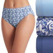 Jockey 3-pk. Supersoft French Cut Panties 2071 - Women's