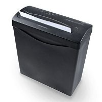 Royal CX6BK 6-Sheet Cross-Cut Paper Shredder