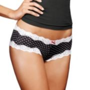 Maidenform Scalloped Lace-Trim Cheeky Hipster 40823 - Women's