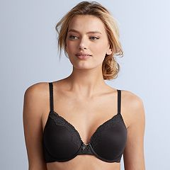 6fa545cb36 Maidenform Bras  Comfort Devotion Full Coverage Lace-Trim Bra 09404. Navy  With White Dots Ivory Latte Combo Black ...