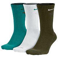 Men's Nike 3-pk. Dri-FIT Cushioned Crew Socks