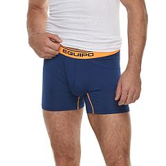 Men's equipo 2 pkSolid Mesh Performance Boxer Brief