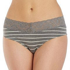 Juniors' Saint Eve V-Lace Hipster 516403