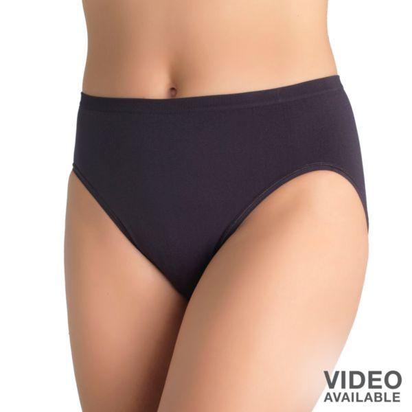 Cutting panties off pantyhose