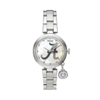Sparo Charm Watch - Women's Alabama Crimson Tide Stainless Steel