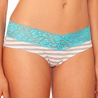 Juniors' SO® Lace-Trim Boyshorts