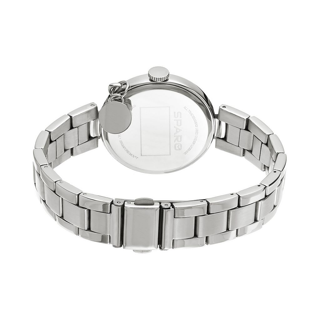 Sparo Charm Watch - Women's Auburn Tigers Stainless Steel
