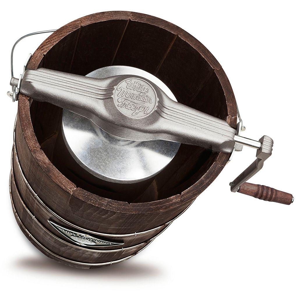 White Mountain Appalachian Series 6-qt. Hand-Crank Ice Cream Maker