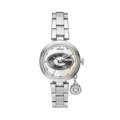 Sparo Charm Watch - Women's Georgia Bulldogs Stainless Steel