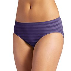 Jockey Comfies Matte & Shine Seamfree Hi-Cut Brief 1306