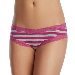 Juniors' Saint Eve Dot Lace-Trim Hipster 516401