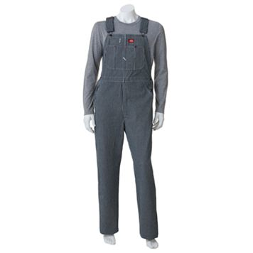 Men's Dickies Striped Bib Overalls