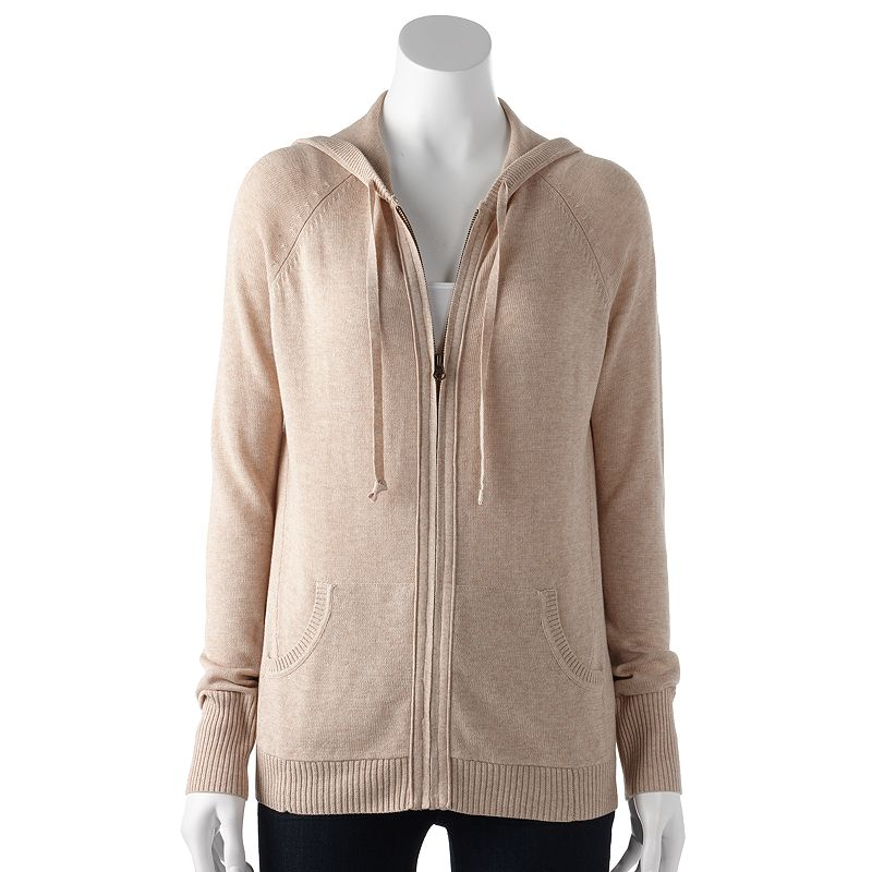 SONOMA life + style® Knit Hoodie - Women's