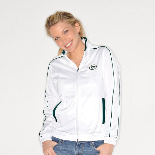 Women s G34HER by Carl Banks Green Bay Packers Tag Up Track Jacket 083b6af4c