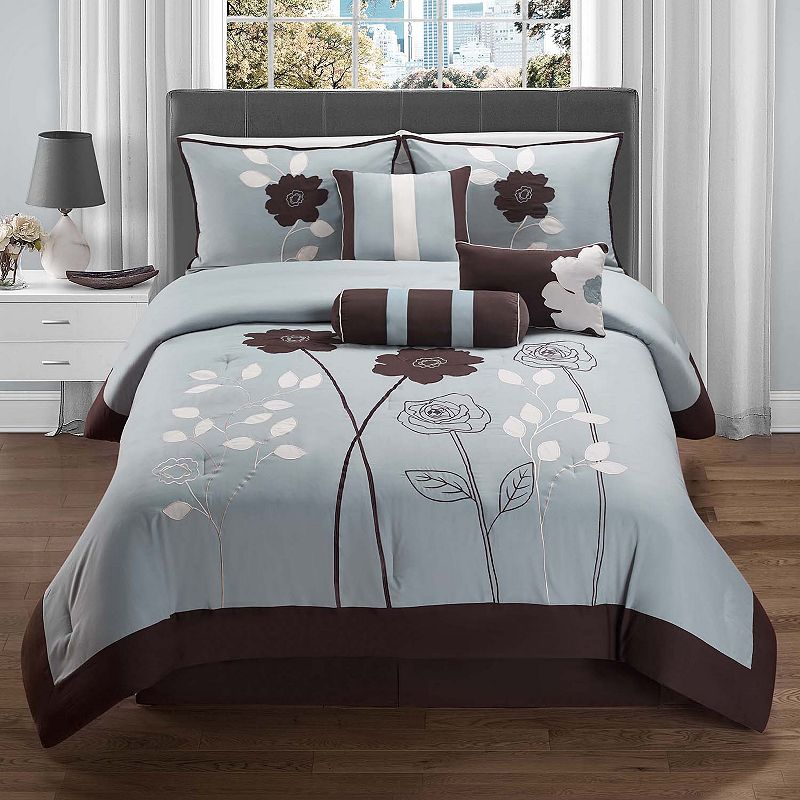 victoria classics adrienne 7 pc comforter set queen