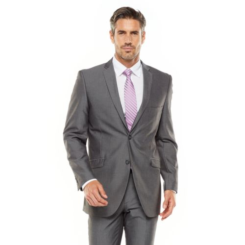 Men's Adolfo Slim-Fit Gray Sha...