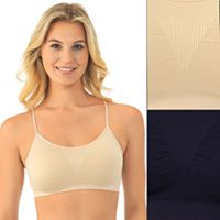 Lily of France Bras: 2-pack Dynamic Duo Comfort Bralette 2171941