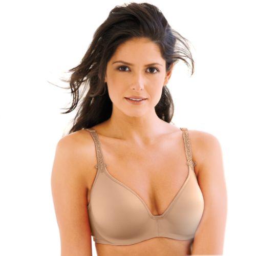 Bali Bra: Passion for Comfort Indulgence Back-Smoothing Full-Figure Bra 3514 - Women's