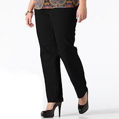 b08a501fc3d Plus Size Gloria Vanderbilt Amanda Classic Tapered Jeans