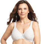 Olga® by Warner's® Bra: Sheer Leaves Lace Full-Figure Full-Coverage Minimizer Bra 35519 - Women's