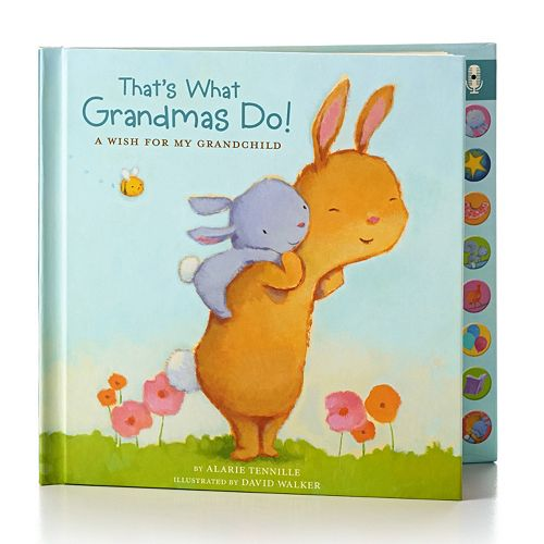Hallmark thats what grandmas do recordable hardcover book m4hsunfo