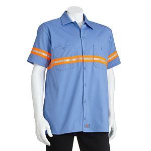 Men's Dickies Enhanced Visibility Button-Down Work Shirt