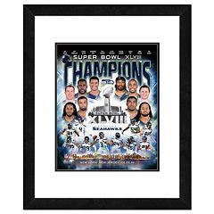 Seattle Seahawks Super Bowl XLVIII Champions Composite Framed 22' x 18' Photo