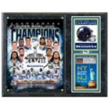 "Seattle Seahawks Super Bowl XLVIII Champions 12"" x 15"" Plaque"