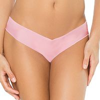 Juniors' SO® Smooth No-Show Thong
