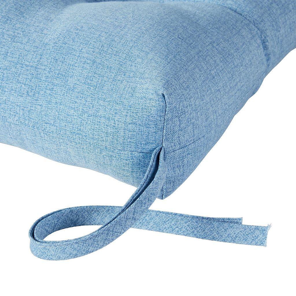 Greendale Home Fashions Outdoor High-Back Chair Cushion